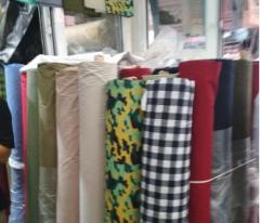 Ткань для текстиля черно белая