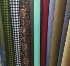 Ткань для текстиля мятная