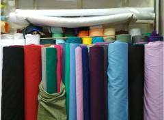 Ткань для текстиля в зеленых тонах