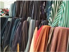 Ткань для текстиля в полосу рулонах