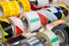 Lithographic packaging tapes