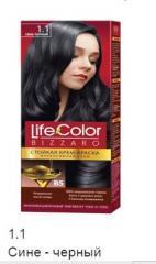 Краска для волос сине черная