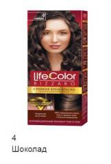 Краска для волос Life color шоколад