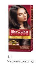 Краска для волос череный-шоколад