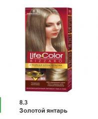 Краска для волос золотой янтарь