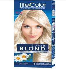 Краска для волос Life color super blond