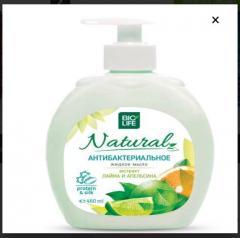 Жидкое мыло лайм и апельсин Bioline Сosmetiсs