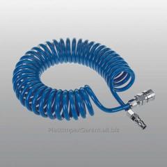 Шланги компрессорные спиральные (PE)
