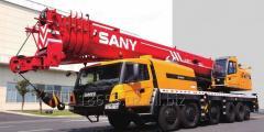 Автокран SANY STC 800