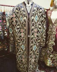 Чапан свадебный. Традиционная Мужская Золотошвейная одежда(Gold Embroidery Chapan. Traditional Man's clothing).