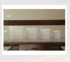 Ведро круглое для фасовки паст Toshkent Plast Polimer
