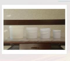Ведро круглое для фасовки сметаны Toshkent Plast Polimer
