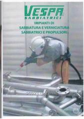 Дробеструйное оборудование от компании Vespa Sabbiatrici