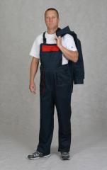 The overalls are antistatic