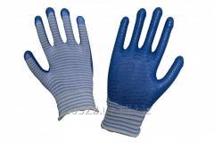Перчатки Синтетические обливные «ЗЕБРА»