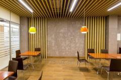 Кубический потолок — инновационная подвесная система для эксклюзивного оформления потолочного пространства.
