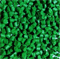 Суперконцентрат зеленого красителя для полимеров MX64035
