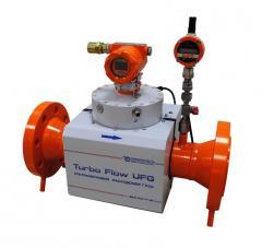 Расходомер газа Turbo Flow UFG-F-100