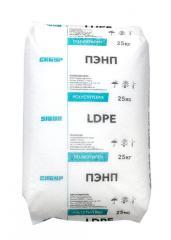 Полиэтилен высокого давления LDPE Tomsk 153 в гранулах.