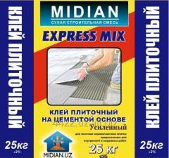 УСИЛЕННЫЙ - Клей плиточный на цементе