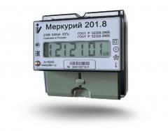 Однофазный счётчик Меркурий 201.8 (230/5/80)