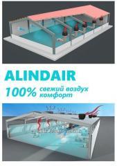 Промышленный испарительный охладитель Alindair-20 (Турция)