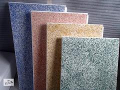 Агломератные плитки 60х60, толщина 1, 2, 3 см (ТЕРАЦЦО)