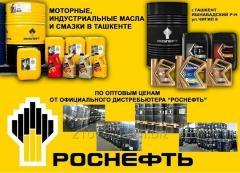 Роснефть Моторные и индустриальные масла и смазки