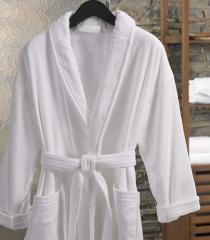 Халат велюровый модель кимоно