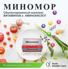 Комплекс витаминов и аминокислот МИНОМОР
