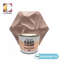 Краска металлизированная Easy Color Rose Gold 914