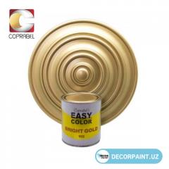 Краска металлизированная Easy Color Bright Gold 902