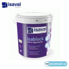 Краска интерьерная антибактериальная ISAVAL ISABLOCK