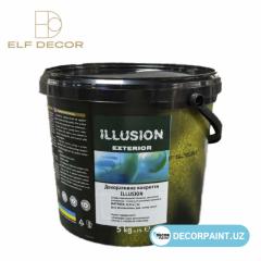 Декоративное покрытие для фасада Illusion Exterior