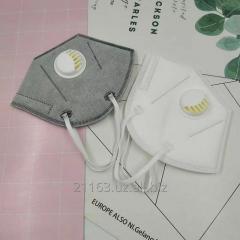 Медицинские маски с защитой KN95