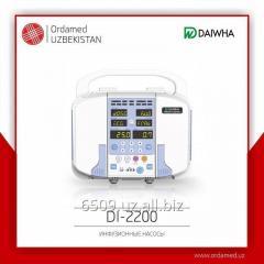 Инфузионный насос DI-2200 двухканальный (Daiwha Corp, Ltd,Корея