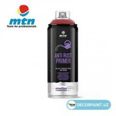 Грунтовка антикоррозионная красная MTN PRO Anti-Rust Primer Red