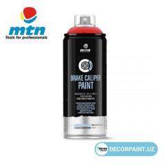 Аэрозольная краска для тормозных суппортов автомобилей