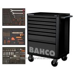 Инструментальная тележка BACHO с набором инструментов 216 шт.