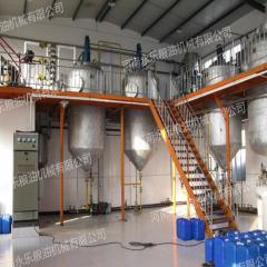 Оборудование для рафинации и отбеливания растительного масла