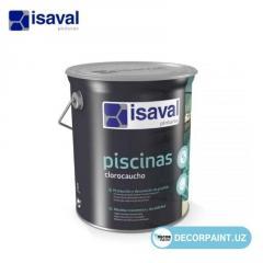Краска хлоркаучуковая для бассейна Piscinas Clorocaucho