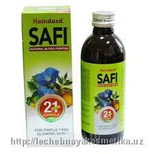 Сафи (Safi) (сироп) 200 мл чистая кожа Индия в Ташкенте