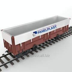 Вагонные вкладыши (контейнеры для полувагонов)