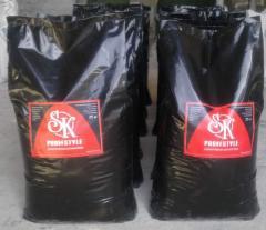 It is cement (plaster) - vermikulitovy dry