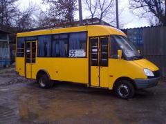 Minibuses of 25 places Gazel-Business