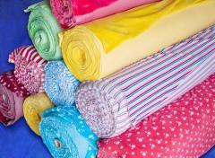 Semi-footer fabric