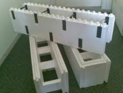 Thermoblocks from polyfoam