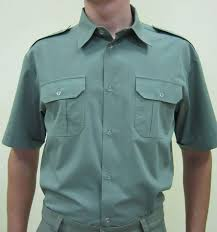 Shirts are uniform, uniforms