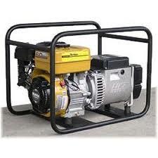 Power plants portable petrol