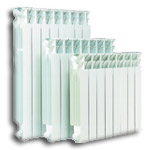 Radiators aluminum Clan N